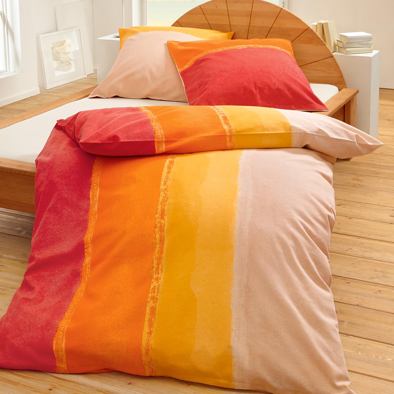 bio renforce bettw sche rot orange. Black Bedroom Furniture Sets. Home Design Ideas