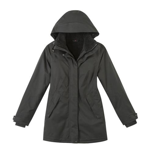 Mantel, schwarz 40