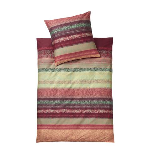 bio renforc bettw sche garnitur verlauf 2 tlg multicolor waschb r. Black Bedroom Furniture Sets. Home Design Ideas