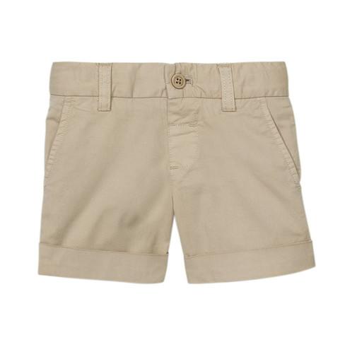 Chino Shorts aus Bio-Baumwolle mit Elastan, beige