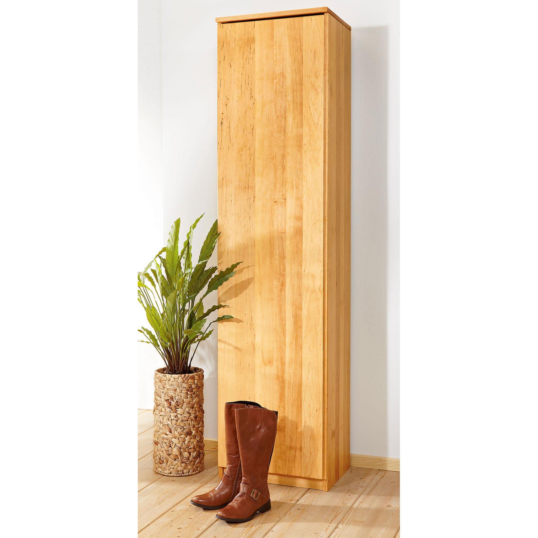 schuhschrank hoch aus erlenholz natur. Black Bedroom Furniture Sets. Home Design Ideas