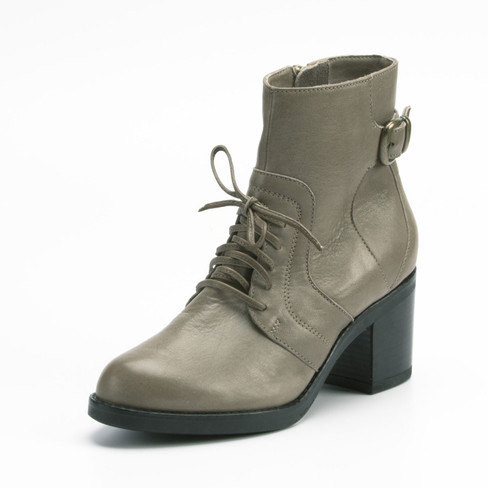 Stiefelette, taupe 38