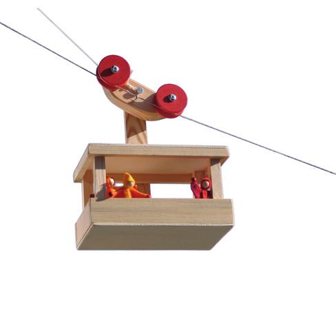 Bausatz Seilbahn-Puppengondel