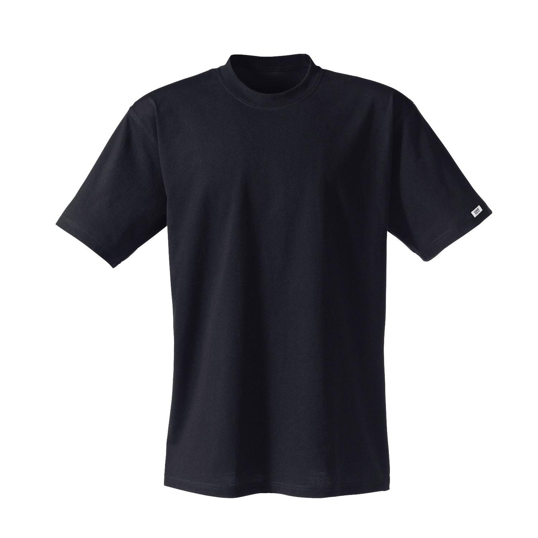 Kurzarm Shirt aus Bio Baumwolle, schwarz from Waschbär