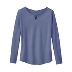 Shirt 1/1 Arm, taubenblau