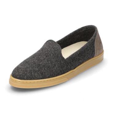 Slipper WOOL LOAFER, grau
