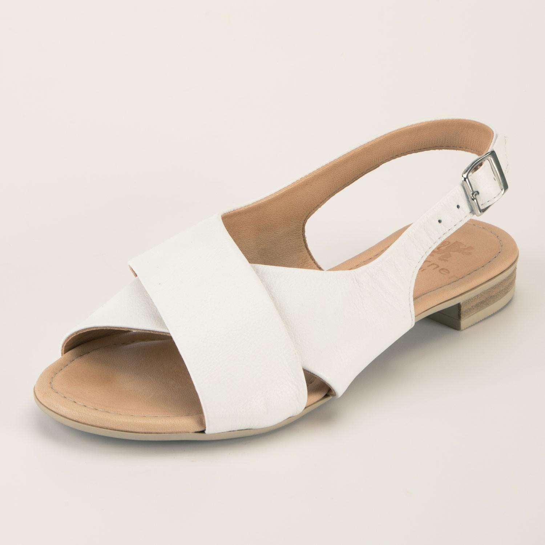 Sandale, weiß from Waschbär