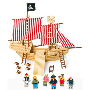 Piratenschiff Set