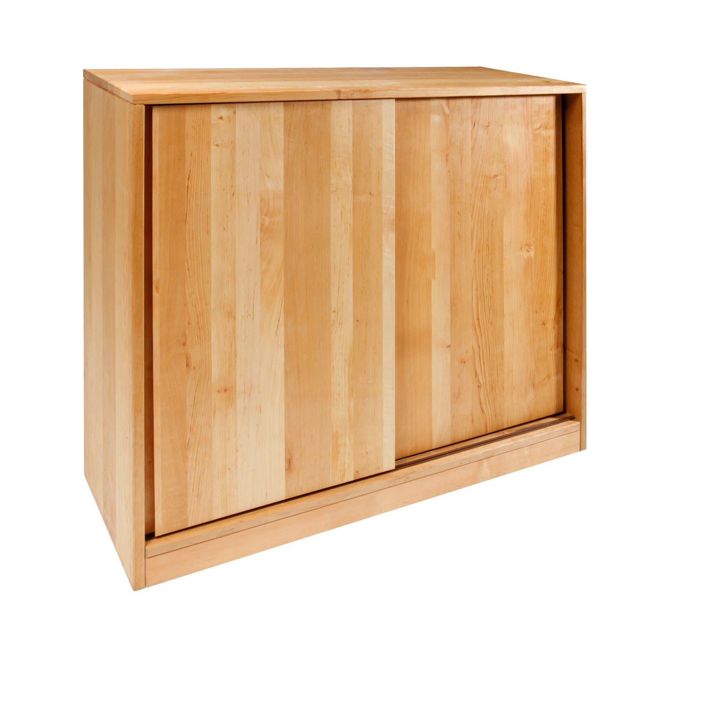 schuhschrank aus erlenholz natur. Black Bedroom Furniture Sets. Home Design Ideas