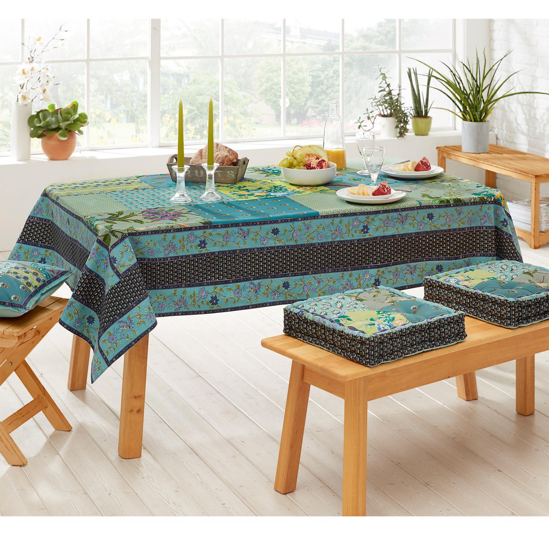 bio tischdecke ocean bunt. Black Bedroom Furniture Sets. Home Design Ideas